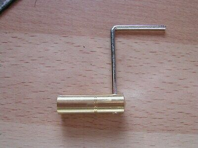 vienna brass clock key size 4.0mm
