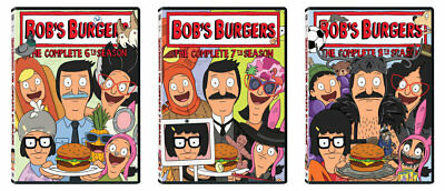 Bob's Burgers The Complete 6Th 7Th 8Th Seasons Dvd Set