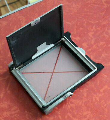 4x5 GROUND GLASS BACK LINHOF LEITZ ETCHED FOCUSING VIEW GLASS