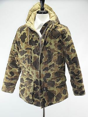 Vintage Columbia Gore-Tex Woodland Camo Thinsulate 3M Hunting Coat Parka USA S