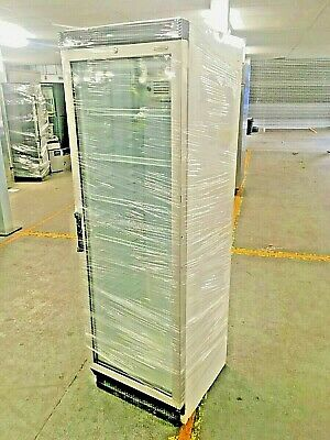 Tefcold FS1380 Upright Glass Fronted Fridge