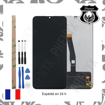 Ecran Lcd Complet + Vitre Tactile Huawei P Smart 2019 +Outils+Colle B7000
