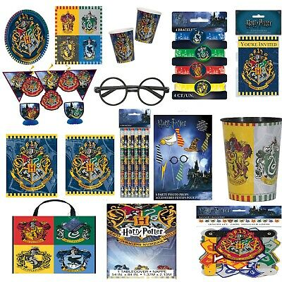 Harry Potter Party Tableware Supplies Decorations Birthday Kids Adults Plates