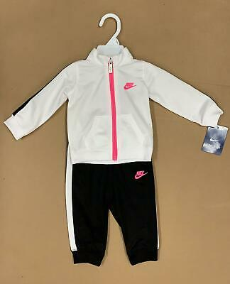 669574ded7 Girls' Clothing (Newborn-5T) Pink Nike Infant Girls Full Zip Tracksuit  Children baby Jogging Suit