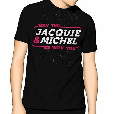 Tee-shirt T-SHIRT Jacquie et Michel MAY THE JACQUIE & MICHEL BE WITH YOU