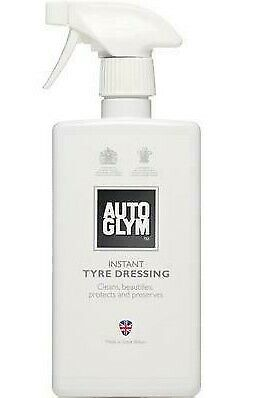 Autoglym Instant Tyre Dressing - Car Tyre Shine Clean / Protects 500ml AGITD
