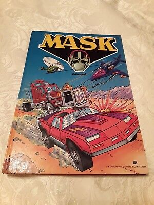 Mask annual 1986 unclipped, good condition.