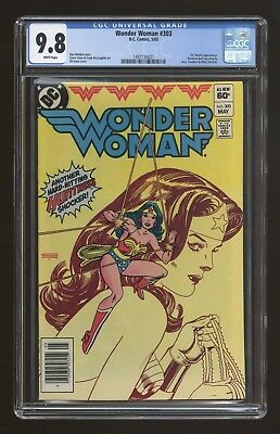 Wonder Woman #303 (May 1983, DC) CGC 9.8 White Pages