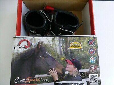SALE pair qty 2 NEW Horse Cavallo ELB Hoof Boot Slim sole Size 1