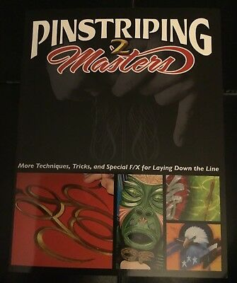 Pinstriping Masters 2 More Techniques,Tricks and special f/x