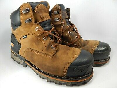 "Timberland Pro Boondock 6"" Size US 13 W (2E) WIDE EU 47.5 Men's Work Boots 92615"