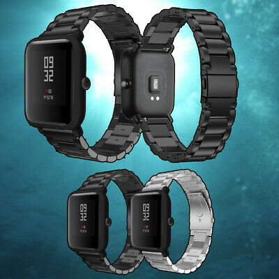 Replacement Premium Stainless Steel Straps Wrist Band For Huami Amazfit Bip