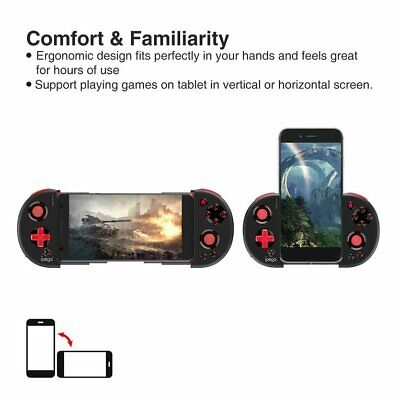 PG-9087 Wireless Bluetooth Gamepad Extendable Joystick Controller For IPEGA YF