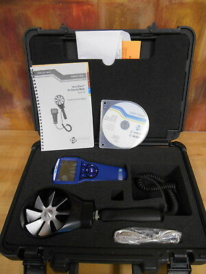 TSI Alnor VelociCalc 5725 Rotating Vane Thermo-Anemometer With Hard Case!