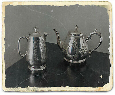 Vintage/Antique Silver Plated Tea and Coffee Pots Collectables