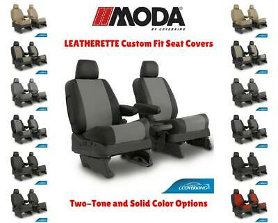 LEATHERETTE COVERKING CUSTOM FIT SEAT COVERS for NISSAN LEAF