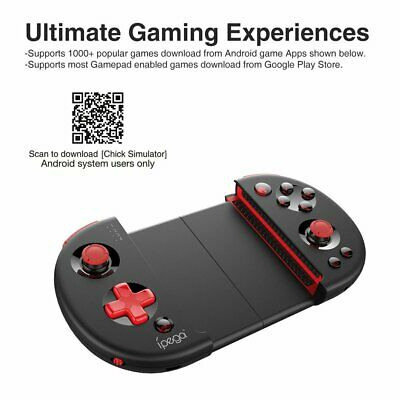 PG-9087 Wireless Bluetooth Gamepad Extendable Joystick Controller For IPEGA SK