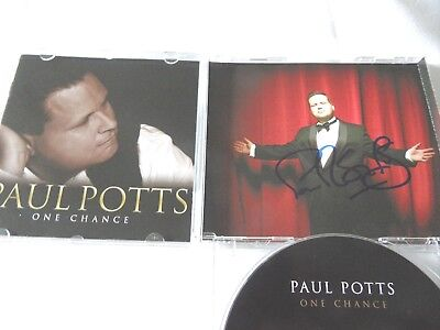 Paul Potts CD One Chance - signiert !