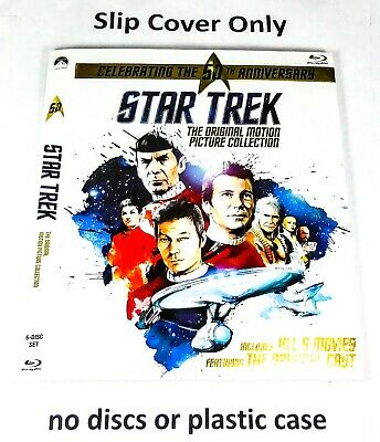Star Trek: The Original Motion Picture Collection - Slip Cover Only (no blu ray)