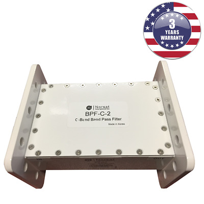 Neuf Norsat BPF-C-2 C-Band Passe-Bande Filtre 3.625 - 4.20 Ghz