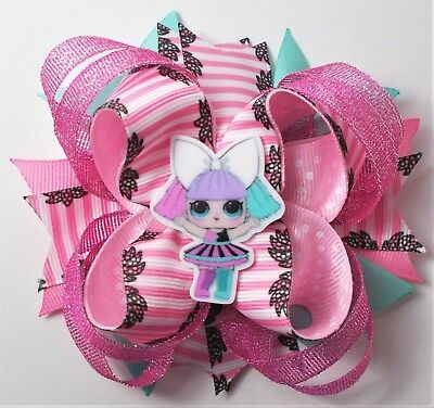 LOL SURPRISE CARTOON STACKED BOUTIQUE BOW HANDMADE GIRLS/' ACCESSORIES
