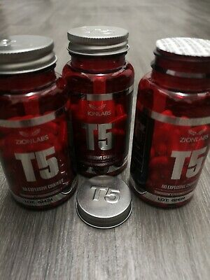 3x ZION LABS ORIGINAL T5 FAT BURNERS💥SPECIAL OFFER PRICE 💥VERY STRONG