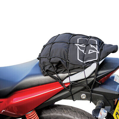 Oxford Essentials Motorcycle Motorbike Cargo Net Bungee Black - 30 x 30cm OX663