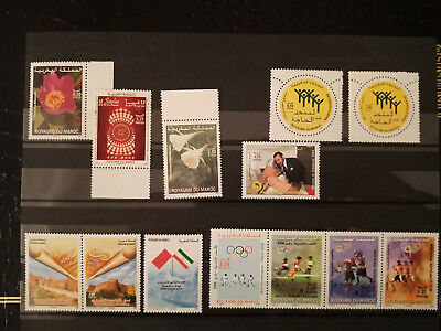 Maroc, Morocco Lot timbres neufs** MNH