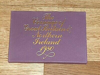1980 Coinage Of Great Britain and Northern Ireland Coin Set