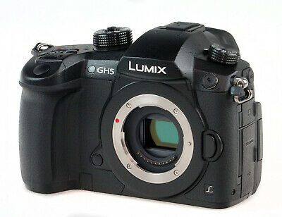 Panasonic Lumix GH5 20.3 MP 4K Mirrorless Digital Camera Body DC-GH5