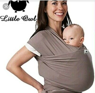 LITTLE OWL soft, stretchy baby sling