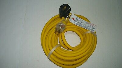 Extension Cord 10 Feet, 250 V L14-30P 10-30P Works Generator To Dryer Outlet