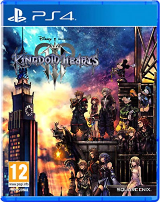 Ps4-Kingdom Hearts 3 (Ps4) GAME NEW