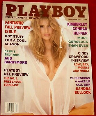 NEW Playboy Magazine September 1995 Playmate Donna D'Errico NEW Condition