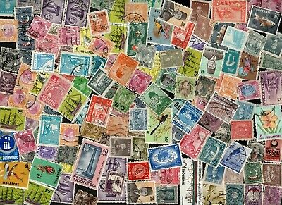 ASIA older stamp mixture of 500 stamps