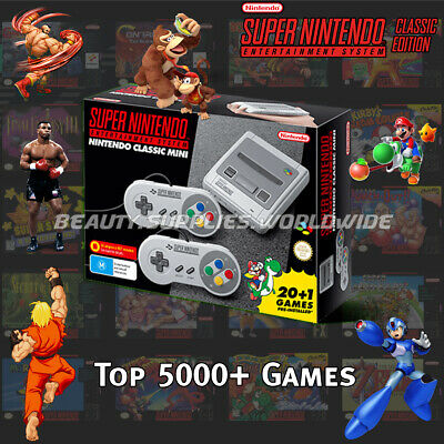 New Super Nintendo Classic Edition Console SNES Entertainment System 450+ Games
