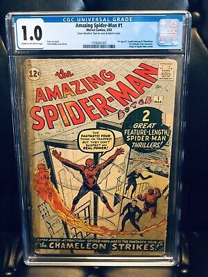 AMAZING SPIDER-MAN (1963) #1 CGC 1.0 Affordable HOLY GRAIL Key Issue! 🔥🔥🔥