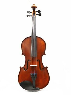"New Old Spruce 14"" Viola, Pro Setup W/Prelude Strings + Case+ Bow,Ready To Play"