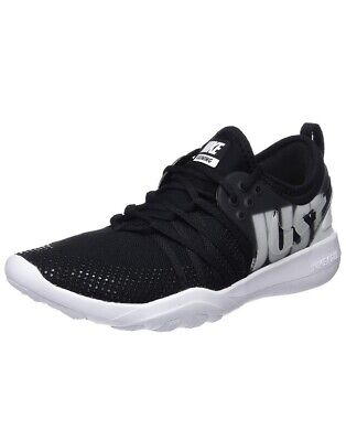 063ea9d81f4f Women Nike Free TR 7 Premium Body weight Trainer Black White 924592-001