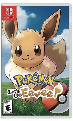 Pokemon: Let's Go, Eevee!! Nintendo Switch BRAND NEW FACTORY SEALED FREE SHIPPIN