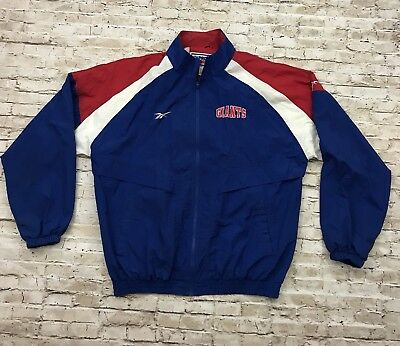 8ff61b2af Vintage New York Giants Reebok Pro Line Windbreaker Jacket Men s Size XL