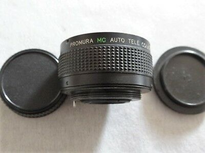 Vintage Camera Lens - PROMURA MC Auto Tele-Converter 2x 7E for PENTAX - S  Japan