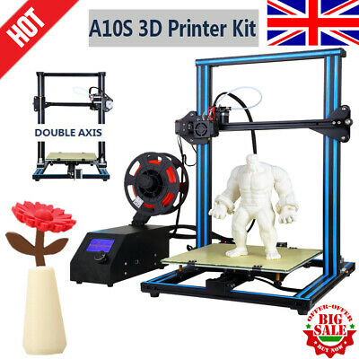 2019 A10S3D Printer Dual Z-axis 30*30*40cm Ability to print intermittently