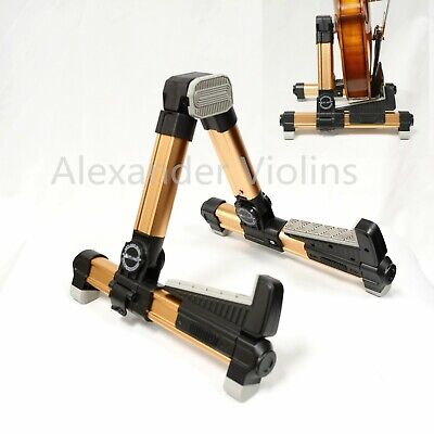 Aluminum Floor Stand Adjustable Holder For Violin,Viola, Ukulele, Mandolin, New
