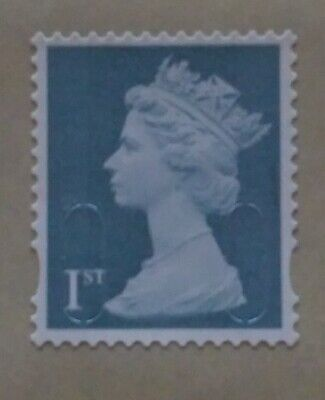 50 x 1ST FIRST CLASS UNFRANKED STAMPS, OFF PAPER, NO GUM. EXCELLENT CONDITION