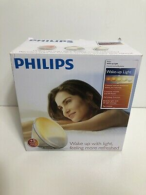 Philips Wake Up Light Alarm Clock With Sunrise Simulation Sunset Fading Night