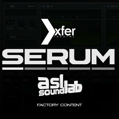 Serum Xfer LastPack 2019 Unlimited Sticky Sounds Music Maker. All DAW's Serum-In