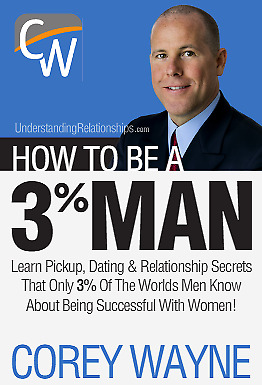 How To Be a 3% Man, by Corey Wayne (Audio BOOK, Download)