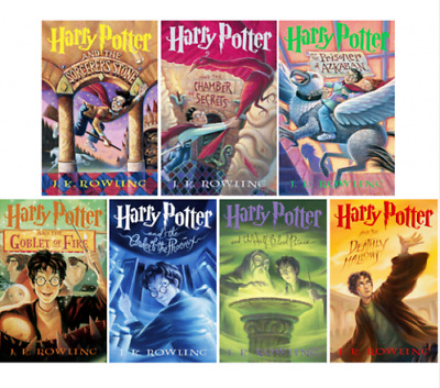 Harry Potter Audiobook Collection 1-7 Narrated By Stephen Fry Best Seller