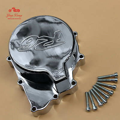Chrome Stator Engine Crankcase Cover Fit For Yamaha YZF-R6 YZF R6 1999-2002